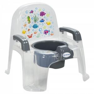 Γιογιό Κάθισμα Chair Διάφανο Grey