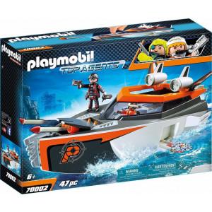 Playmobil, Κατασκοπευτικό Σκάφος, Spy Team, 70002, παιδικό παιχνίδι, narlis.gr