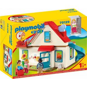 Playmobil, 123, Επιπλωμένο Σπίτι, 70129, Παιδικό Παιχνίδι