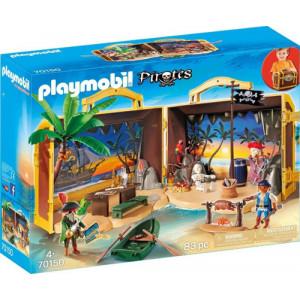 Playmobil Πειρατικό Νησί Βαλιτσάκι 70150 Κωδ. 787.342.375