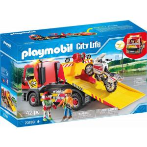 Playmobil, Φορτηγό Οδικής Βοήθειας, City Life, 70199, Παιχνίδι, narlis.gr
