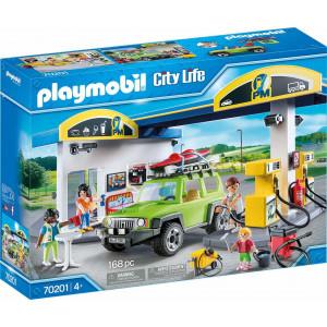 Playmobil Πρατήριο Καυσίμων 70201