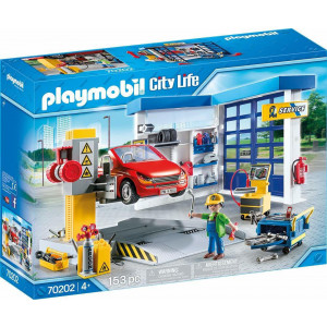 Playmobil, Συνεργείο Αυτοκινήτων, 70202, παιδικό παιχνίδι, narlis.gr