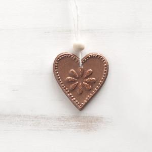 Μπομπονιέρα Καρδιά Πολιεστέρας(Παρίσις) (Κωδ.70683-0171)