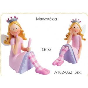 Μαγνητάκι πριγκίπισσα 5εκ(Κωδ:Α162)