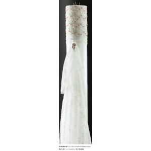 Λαμπάδα δανδέλα stras16Χ150cm Rodia 10.16.507-19(290)