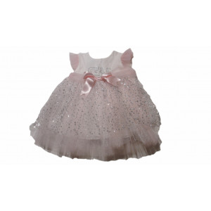 Φόρεμα Τούλινο Ροζ (Κωδ.722.330.001)