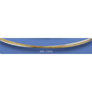 Στέφανα επασημομένα χρυσό βέργες 4621(53900)
