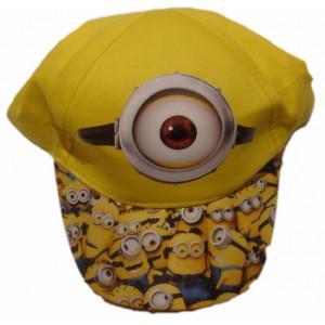Καπέλο Jockey Minions Κίτρινο (Κωδ.748.212.000)