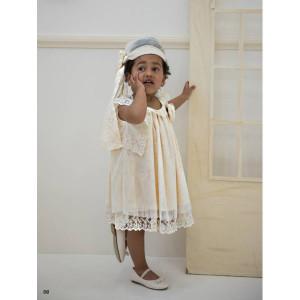 Ολοκληρωμένο πακέτο βάπτισηs με αυτό το φόρεμα (Baby bloom #119.76-100#) Με βαλίτσα rain η παγκάκι θρανίο Δωρεάν μεταφορικά