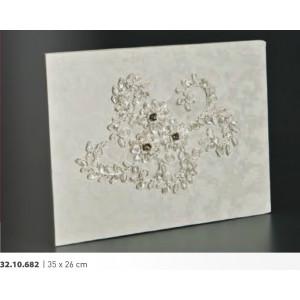 Βιβλίο ευχών γάμου 35Χ26cm Rodia 32.10.682(25)