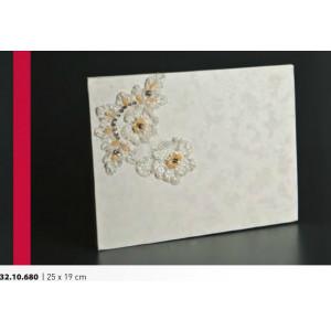 Βιβλίο ευχών γάμου 25Χ19cm Rodia 32.10.680(25)