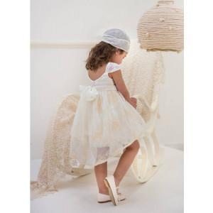 Ολοκληρωμένο πακέτο βάπτισηs με αυτό το φόρεμα (Baby bloom #119.78-120#) Με βαλίτσα rain η παγκάκι θρανίο Δωρεάν μεταφορικά