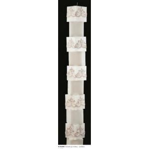 Κολώνα με κύβους-δανδέλα 15Χ150cm Rodia 10.16.601(255)