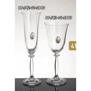 Ποτήρι κρασιού-σαμπάνιας-κρύσταλλο 86-543(3840)
