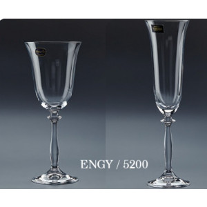 Ποτήρι κρασιού ή σαμπάνιας BOHEMIA ENGY(5200)
