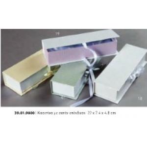 Κουτί κασετίνα με σατέν επένδυση Rodia39.10.9800(0.69)
