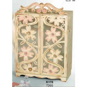 Κουτί ξύλινο ντουλάπα (Κωδ.Κ178-1)
