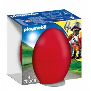 Playmobil Easter Eggs Ιππότης Με Κανόνι 70086 narlis.gr. Το κανόνι εκτοξεύει οβίδες