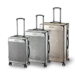 Βαλίτσες Ταξιδιού Rcm Set 3 8031-7 Ασημί και σε Χρυσό