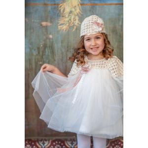 Ολοκληρωμένο σετ βάπτισης κορίτσι Carrousel 816 narlis.gr