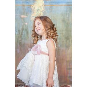 Ολοκληρωμένο σετ βάπτισης κορίτσι Carrousel 817 narlis.gr