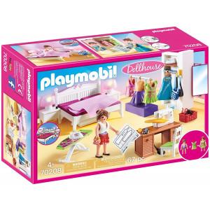 Playmobil Υπνοδωμάτιο Με Ατελιέ Ραπτικής (70208) Α