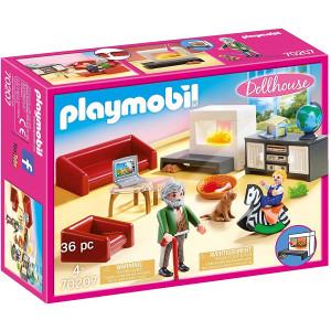Playmobil Σαλόνι Κουκλόσπιτου (70207) Α