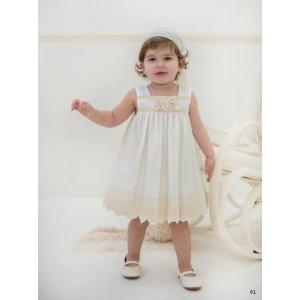 Ολοκληρωμένο πακέτο βάπτισηs με αυτό το φόρεμα (Baby bloom #119.83-120#) Με βαλίτσα rain η παγκάκι θρανίο Δωρεάν μεταφορικά