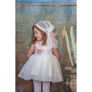 Ολοκληρωμένο σετ βάπτισης κορίτσι Carrousel 821 narlis.gr