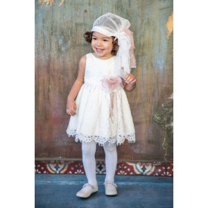 Ολοκληρωμένο σετ βάπτισης κορίτσι Carrousel 525 narlis.gr