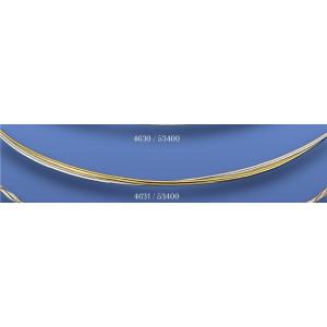 Στέφανα επασημομένα χρυσό βέργες 4631(53400)