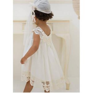 Ολοκληρωμένο πακέτο βάπτισηs με αυτό το φόρεμα (Baby bloom #119.86-120#) Με βαλίτσα rain η παγκάκι θρανίο Δωρεάν μεταφορικά