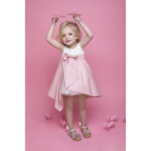 Ολοκληρωμένο πακέτο βάπτισηs με αυτό το φόρεμα Bambolino Aggela (#8745-175-335#) Με βαλίτσα rain η παγκάκι θρανίο Ζητήστε προσφορά !!