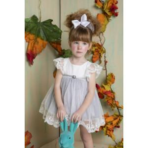 Ολοκληρωμένο πακέτο βάπτισηs με αυτό το φόρεμα Bambolino Violeta (#8764-155-315#) Με βαλίτσα rain η παγκάκι θρανίο Ζητήστε προσφορά !!