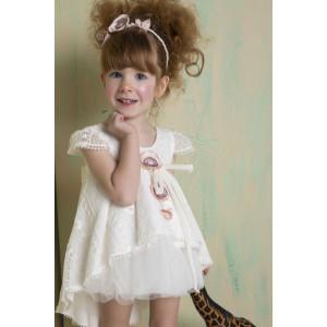 Ολοκληρωμένο σετ βάπτισης φόρεμα Bambolino  Lemonia 8779-150-315 Με Βάλίτσα η παγκάκι θρανίο και με άλλες επιλογές Ζητήστε προσφορά !!