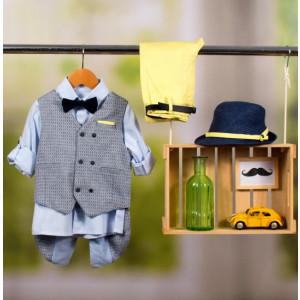Ολοκληρωμένο πακέτο βάπτισης με αυτό το κοστούμι Bambolino Alvertis (#8865-170-330#) Με βαλίτσα rain η παγκάκι θρανίο Ζητήστε προσφορά !!