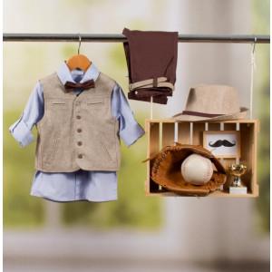 Ολοκληρωμένο πακέτο βάπτισης με αυτό το κοστούμι Bambolino Panoulis (#8888-175-335#) Με βαλίτσα rain η παγκάκι θρανίο Ζητήστε προσφορά !!