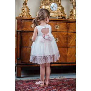 Ολοκληρωμένο σετ βάπτισης κορίτσι Bambolino Gloria 9108-120-285  Με Βάλίτσα η παγκάκι θρανίο και με άλλες επιλογές Ζητήστε προσφορά !!