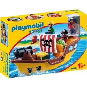 Playmobil, Πειρατικό, Καράβι, 9118, πειρατές, πλοίο, παιχνίδι