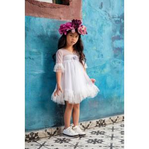 Ολοκληρωμένο σετ βάπτισης κορίτσι Bambolino Vanessa 9129-140-305  Με Βάλίτσα η παγκάκι θρανίο και με άλλες επιλογές Ζητήστε προσφορά !!