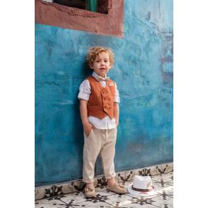 Ολοκληρωμένο σετ βάπτισης αγόρι Bambolino Chilly 9244 narlis.gr