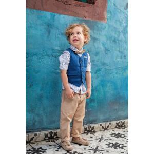 Ολοκληρωμένο σετ βάπτισης αγόρι Bambolino Ryan 9250 narlis.gr