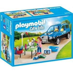 Playmobil, Κινητή Μονάδα Κτηνιατρικής Φροντίδας, 9278, παιδικό παιχνίδι, narlis.gr