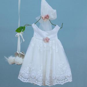 Ολοκληρωμένο σετ βάπτισης κορίτσι Bambolino Diana 9338 narlis.gr