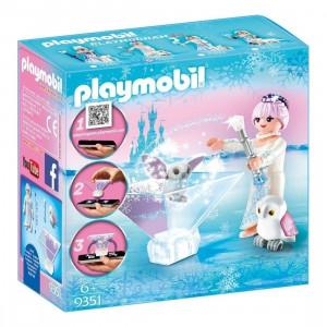 Playmobil Πριγκίπισσα Του Χιονιά Με Κουκουβάγια 9351, narlis.gr