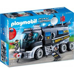Playmobil Θωρακισμένο Όχημα Ειδικών Αποστολών 9360, narlis.gr