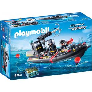 Playmobil, Ταχύπλοο, Ομάδα Ειδικών Αποστολών, 9362, παιχνίδι, αγόρι, narlis.gr