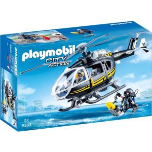 Playmobil, Ελικόπτερο, Ομάδα Ειδικών Αποστολών, 9363, παιχνίδι, αγόρι, narlis.gr