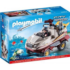 Playmobil, Αμφίβιο, Όχημα, Ομάδα Ειδικών Αποστολών, 9364, παιχνίδι